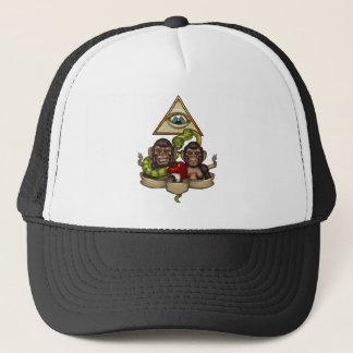 The evolution trucker hat