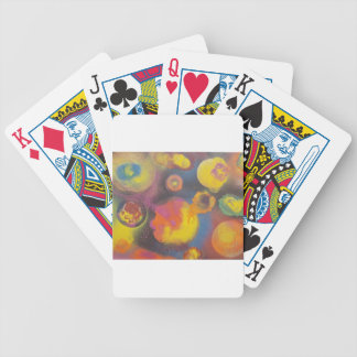 The Evolving Micro-Universe Bicycle Playing Cards