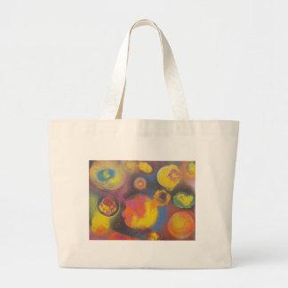 The Evolving Micro-Universe Large Tote Bag