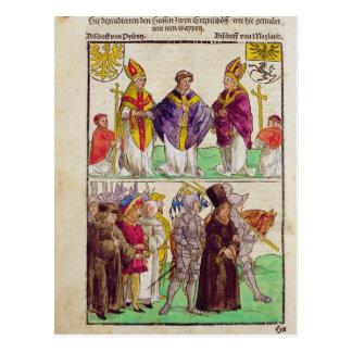 The execution of Jan Hus Postcard