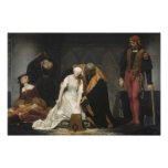 The Execution of Lady Jane Grey Poster