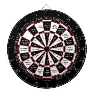 The Executive Decision Maker Magic 8 Ball Style Dartboard