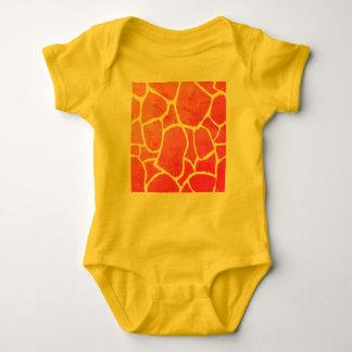 The exotic Baby body with giraffe Art Print Baby Bodysuit
