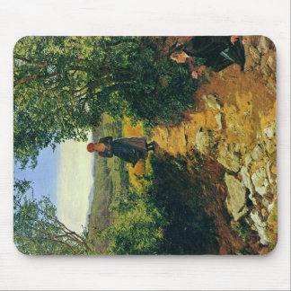 The Expected By Waldmüller Ferdinand Georg Mouse Pads
