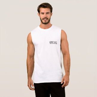 The experiment is the key sleeveless shirt