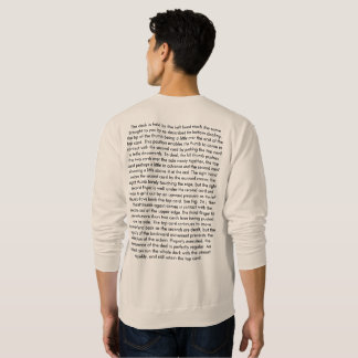 The Expert AT the card table (Hand draw) Sweatshirt