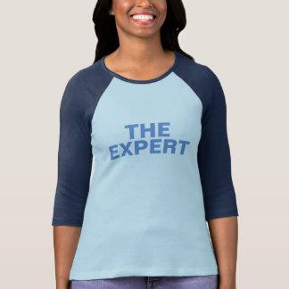 the expert chic cool t-shirt design