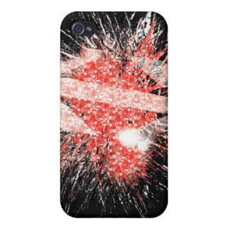The Exploding heart Case For The iPhone 4
