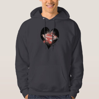 The Exploding Heart Hoodie