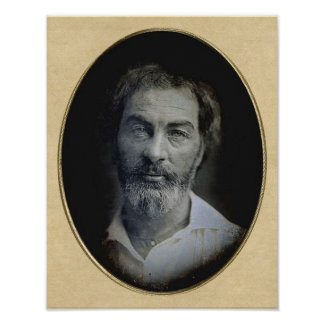 The Expression in Your Eyes: Walt Whitman, Age 35 Posters