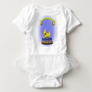 the extraordinary human footed scottie dog baby bodysuit