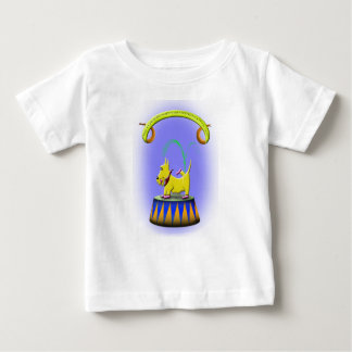the extraordinary human footed scottie dog baby T-Shirt