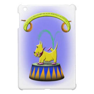the extraordinary human footed scottie dog iPad mini case