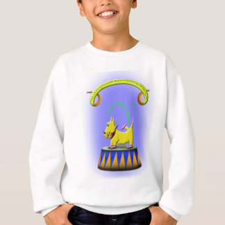 the extraordinary human footed scottie dog sweatshirt