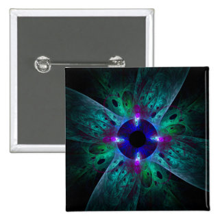 The Eye Abstract Art Button (square)