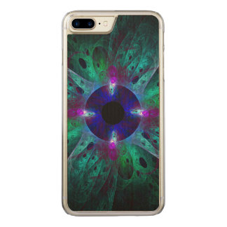 The Eye Abstract Art Carved iPhone 7 Plus Case
