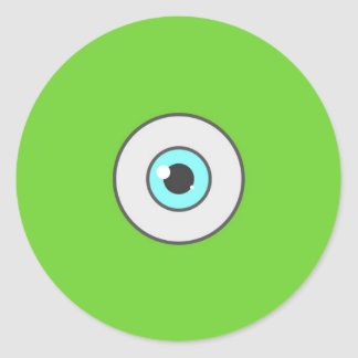 The Eye minimal sticker