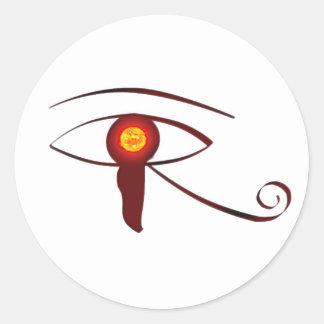 The Eye of Horus Classic Round Sticker