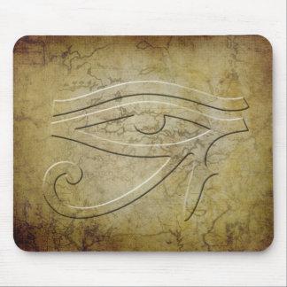 The Eye of Horus - embossed look Mousepads