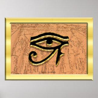 The Eye of Horus Print