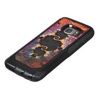 The Eye of Julia, a Rainbow Fractal Paint Swirl OtterBox Samsung Galaxy S7 Case