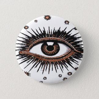 The Eye of Providence 6 Cm Round Badge