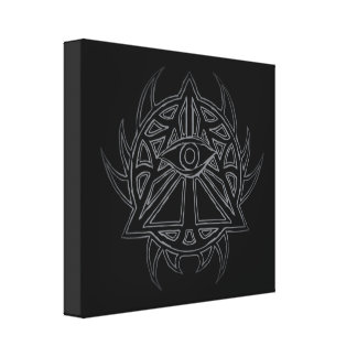 The Eye of Providence - All-Seeing Eye Canvas Print