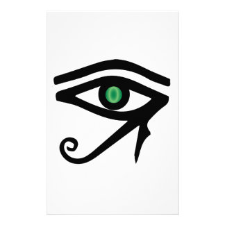 The Eye of Ra Personalised Stationery