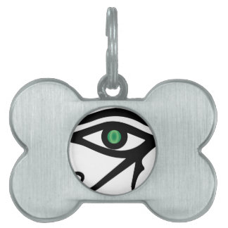 The Eye of Ra Pet Name Tag