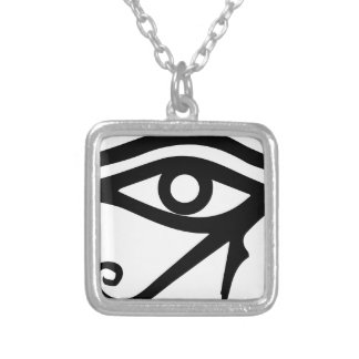 The Eye of Ra Silver Plated Necklace