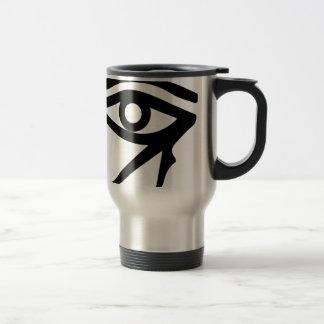 The Eye of Ra Travel Mug
