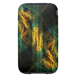 The Eye of the Jungle Abstract Art iPhone 3G / 3GS iPhone 3 Tough Covers