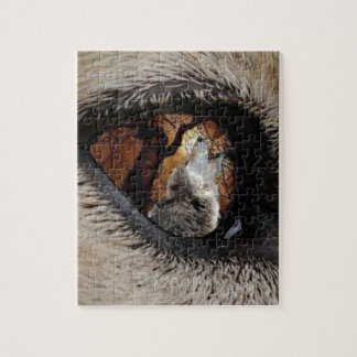 The Eye of The Wolf Jigsaw Puzzle