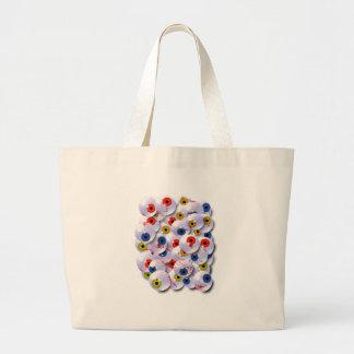 the eyeball collector large tote bag