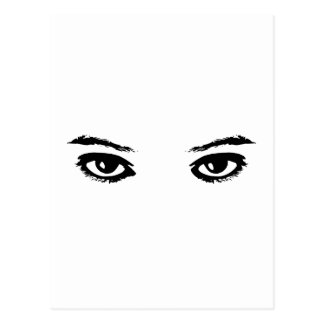 The Eyes Have It Postcard