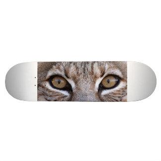 The Eyes Of A Bobcat 20.6 Cm Skateboard Deck