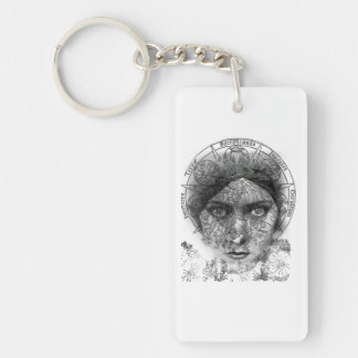 The Eyes of Alchemy Key Ring
