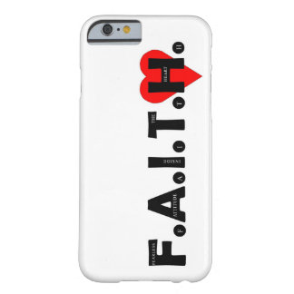 The F.A.I.T.H. I-Phone protection case. Barely There iPhone 6 Case