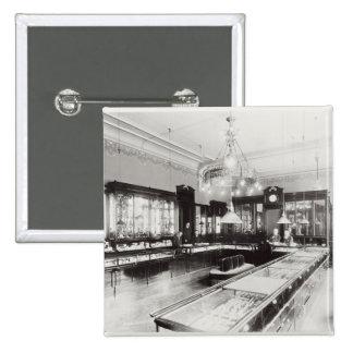 The Faberge Emporium (b/w photo) 15 Cm Square Badge