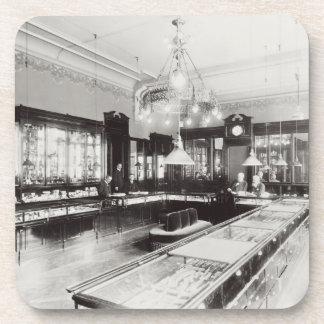 The Faberge Emporium (b/w photo) Beverage Coasters