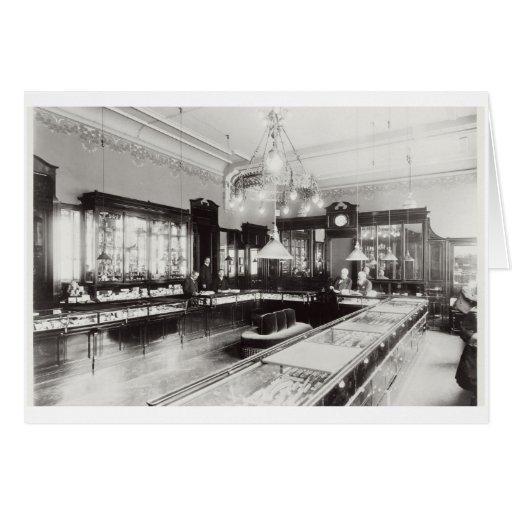 The Faberge Emporium (b/w photo) Card