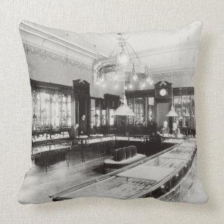 The Faberge Emporium (b/w photo) Pillow