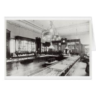The Faberge Emporium (b/w photo) Greeting Card