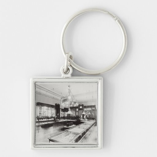 The Faberge Emporium (b/w photo) Key Chains