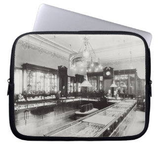 The Faberge Emporium (b/w photo) Laptop Sleeves