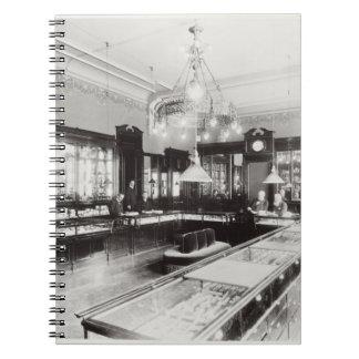 The Faberge Emporium (b/w photo) Spiral Notebook