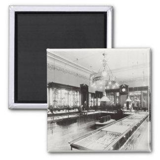 The Faberge Emporium (b/w photo) Square Magnet