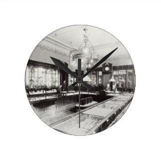 The Faberge Emporium (b/w photo) Wallclock