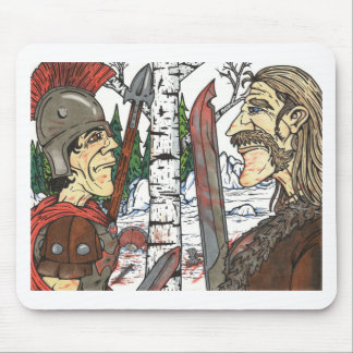 The Face off Mouse Pad