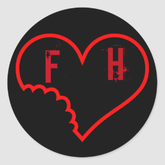 The Faded Hearts Official Sticker
